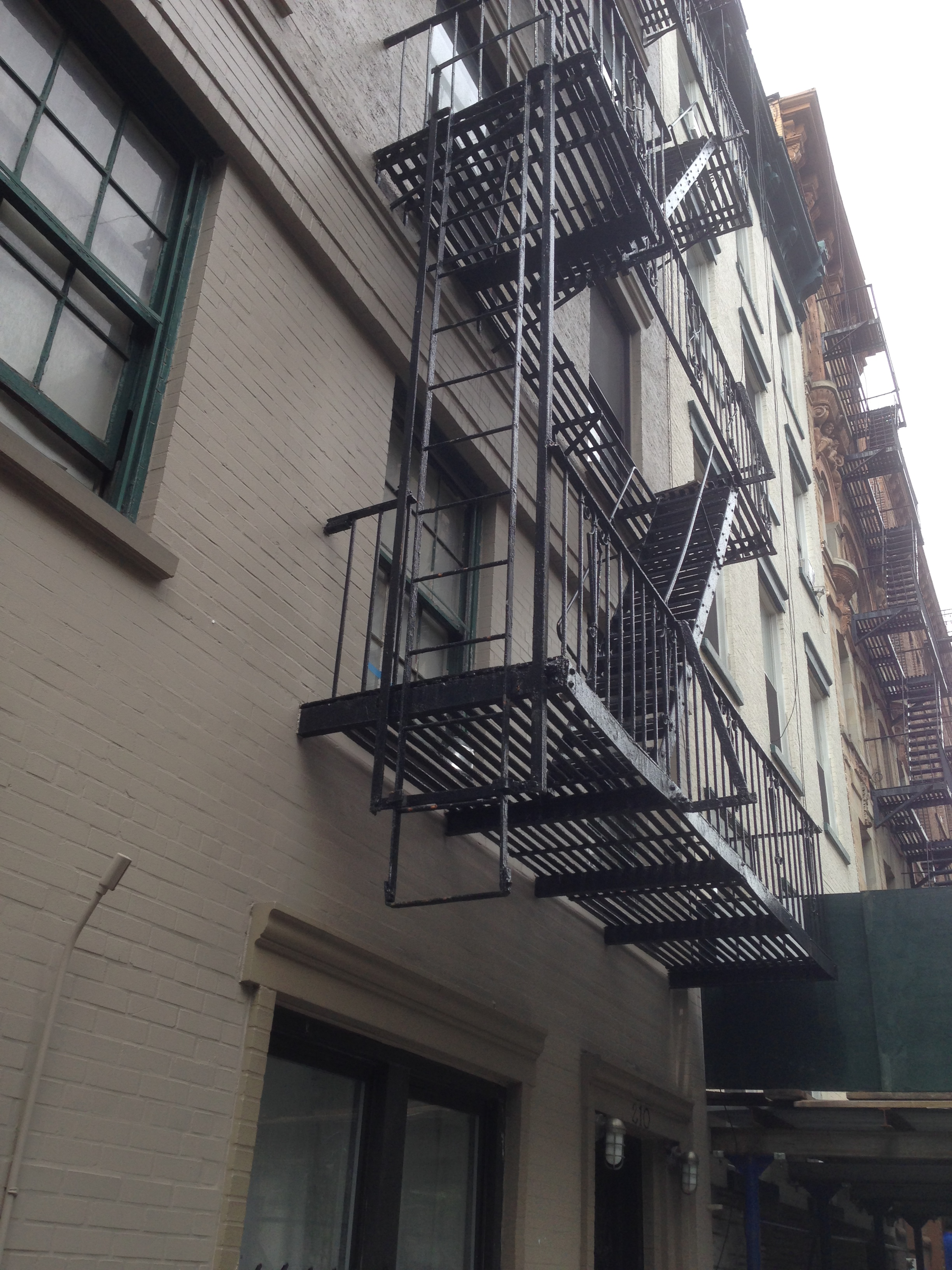 Joseph Winters Fire Escape Ladder : Fire escape lader pictures to pin on pinterest daddy
